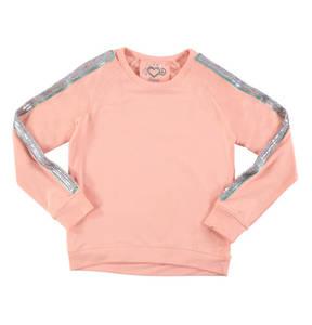 JETTE by STACCATO             Sweatshirt, Pailletten-Streifen, Raglan-Ärmel, für Mädchen