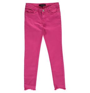 JETTE by STACCATO             Jeans, Slim Fit, verstellbarer Bund, fransiger Saum, für Mädchen
