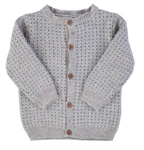 "name it             Strickjacke ""Fibur"", Knopfleiste, Baumwoll-Mix, für Babys"