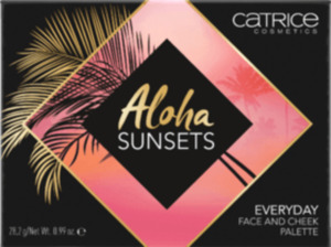 Catrice Rouge Aloha Sunsets Everyday Face And Cheek Palette mehrfarbig