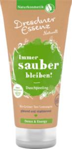 Dresdner Essenz Naturell Duschpeeling Immer sauber bleiben