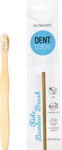 DENTTABS Zahnbürste Kinder Bamboo Brush weich