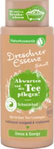 Dresdner Essenz Naturell Schaumbad Abwarten und mit Tee pflegen