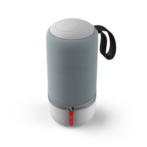 "Libratone ZIPP MINI 2 (Frosty Grey) - Tragbarer Bluetooth Lautsprecher (Bluetooth 4.1, 12 Std. Akku, 3"" Basswoofer, USB)"
