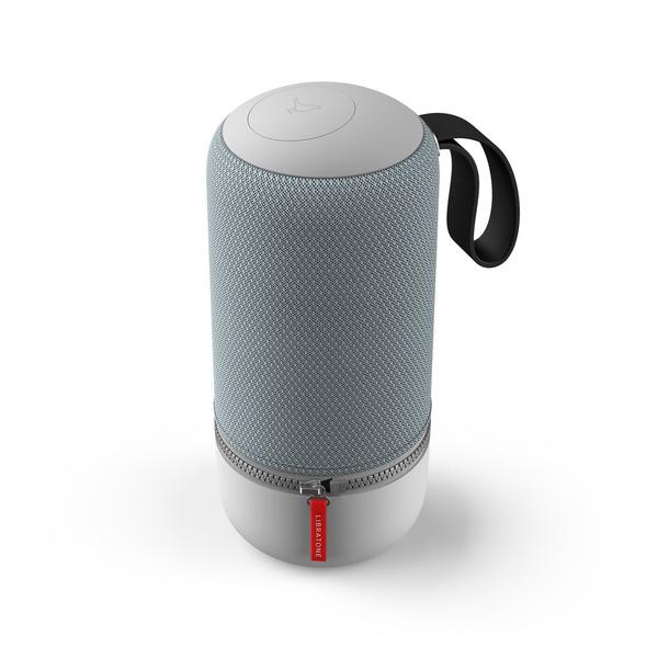 "Libratone ZIPP MINI 2 (Frosty Grey) - Tragbarer Bluetooth Lautsprecher (Bluetooth 4.1, 12 Std. Akku, 3"" Basswoofer, USB)"