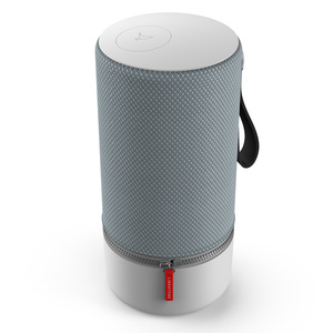 "Libratone ZIPP 2 (Frosty Grey) - Tragbarer Bluetooth Lautsprecher (Bluetooth 4.1, 12 Std. Akku, 4"" Basswoofer, USB)"