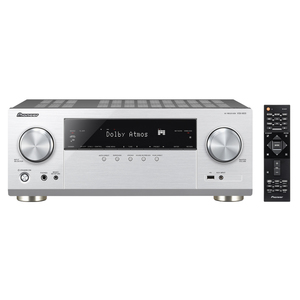 Pioneer VSX-933-S Silber - 7.2 AV-Receiver (135 Watt/Kanal, Bluetooth, Wi-Fi, LAN, Dolby Atmos)