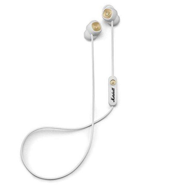 MARSHALL Minor II weiß - Bluetooth In-Ear-Kopfhörer (12 Stunden kabellose Spieldauer, eingebautes Mikrofon)