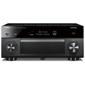 YAMAHA RX-A2070 Schwarz - 9.2 AV-Receiver (220 Watt, Bluetooth, dtsX, DAB+, Zone 4, Dolby Atmos)