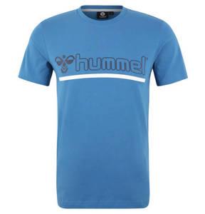 """hummel             T-Shirt """"Brick"""", Label-Print, Rundhalsausschnitt, Jersey, für Herren"""