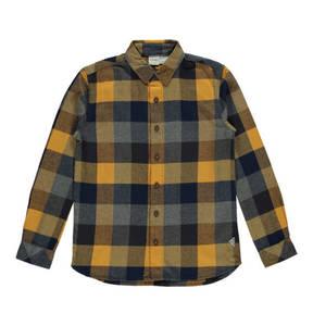 manguun teens             Freizeithemd, Baumwolle, Flanell, kariert, für Jungen