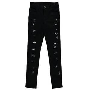 manguun teens             Jeans, Destroyed-Look, Pailletten, für Mädchen