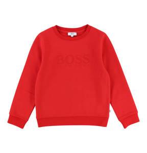 BOSS             Pullover, Baumwoll-Mix, gefüttert, für Jungen