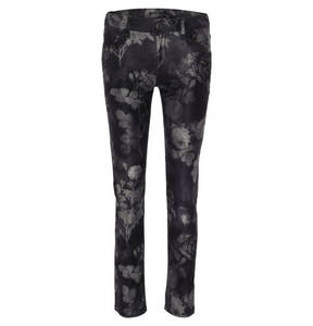 """Blue Fire             Jeans """"Nancy"""", Straight Fit, florales Design"""