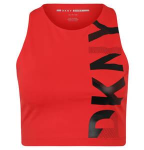 DKNY             Top, Print, cropped, atmungsaktiv, schnelltrocknend, Kompression, für Damen