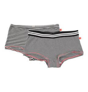 ESPRIT             Panty, 2er-Pack, gestreifter Bund, für Mädchen