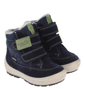 Superfit             Boots, Gore-Tex, gefüttert, Klettverschluss, für Jungen
