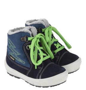 Superfit             Boots, Gore-Tex, kontrastfarbene Schnürsenkel, für Jungen