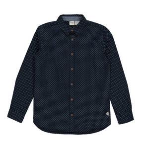 manguun teens             Freizeithemd, gepunktet, Baumwolle, für Jungen
