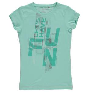 manguun sports             T-Shirt, Baumwolle, Print, für Mädchen