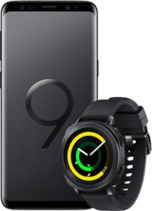 Samsung Galaxy S9 mit Gear Sport