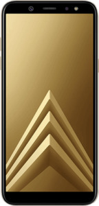 Samsung Galaxy A6+ gold