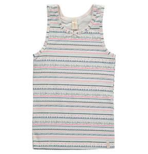 ESPRIT             Unterhemd, Baumwoll-Stretch, Schleife, Allover-Print, für Mädchen