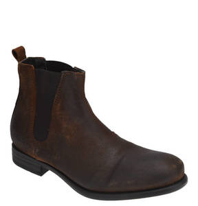 "REPLAY             Chelsea Boots ""FUAD"", Leder, Used-Look, Stretch-Einsatz"