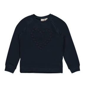 manguun kids             Sweatshirt, Stickerei, Fleecefutter, Tüll, für Mädchen
