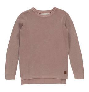 manguun teens             Pullover, Baumwolle, Strick, verlängerter Rücken, für Jungen