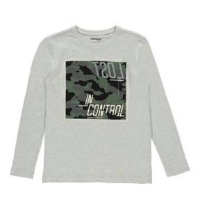 manguun teens             Langarmshirt, Biobaumwolle, Print, für Jungen