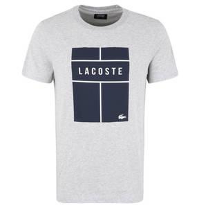 LACOSTE             T-Shirt, schnelltrocknend, Print, für Herren