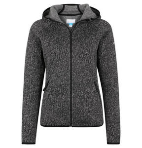 "Columbia             Fleecejacke ""Chillin"", Strick-Optik, Kapuze, Kinnschutz, für Damen"