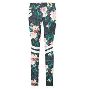 GARCIA             Leggings, Skinny, Blumenmuster und Streifen, für Mädchen