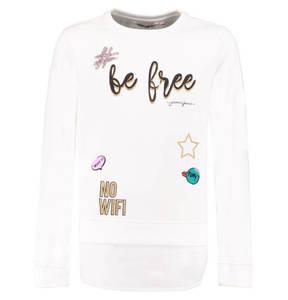 GARCIA             Sweatshirt, Patches, Sticker, Bluseneinsatz, für Mädchen