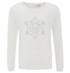 manguun teens             Pullover, Strick, Weihnachts-Motiv, Pailletten, für Mädchen