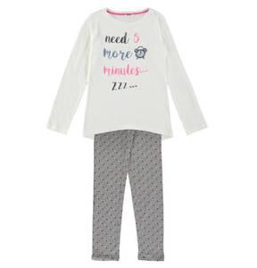 ESPRIT             Schlafanzug, Statement-Print, Punkte-Muster, für Mädchen