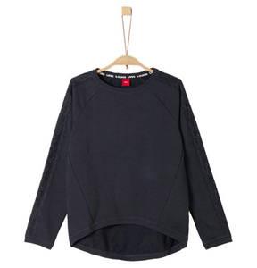 s.Oliver             Sweatshirt, High-Low Saum, für Mädchen
