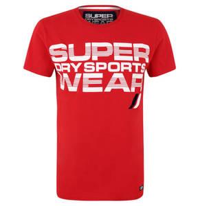 """Superdry             T-Shirt """"Speed"""", feuchtigkeitsregulierend, Baumwolle, für Herren"""