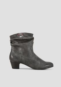 Cowboy-Boots in Glattleder-Optik