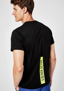 T-Shirt aus Stretchjersey