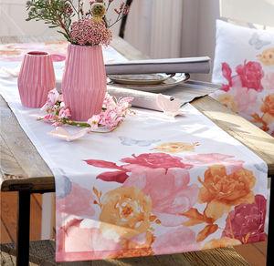 Home Tischläufer mit Aquarell-Motiv, ca. 40x140cm