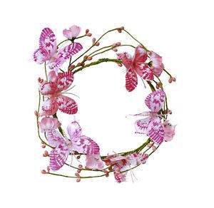 Deko-Ring mit Schmetterlingen, Ø ca. 13cm