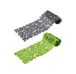 Home Filz-Tischläufer im Frühlings-Design, ca. 25x130cm