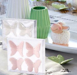 Porzellan-Schmetterlinge