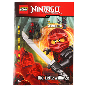 LEGO Ninjago Rätselbuch mit Figur