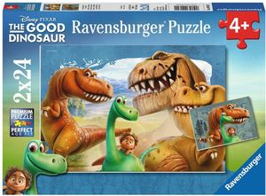 Ravensburger Der gute Dinosaurier, 2x24 Teile