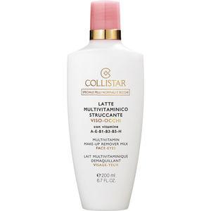Collistar Multivitamin Make-Up Remover Milk Face-Eyes, Make-Up Entferner, 200 ml