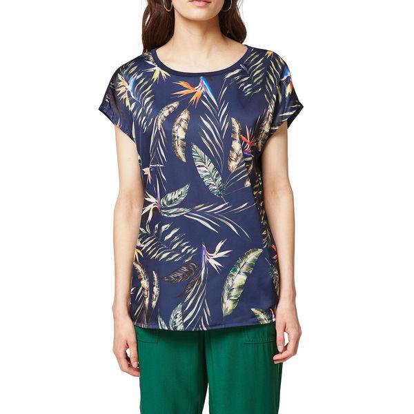 Esprit Collection Damen Bluse, gemustert