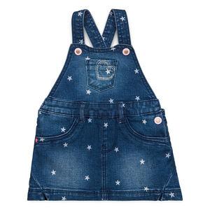 Esprit Baby Mädchen Jeans-Kleid mit Print
